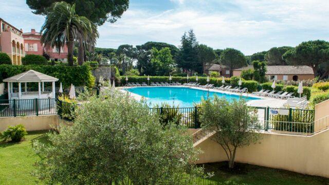 hôtel les jardins de Ste-Maxime