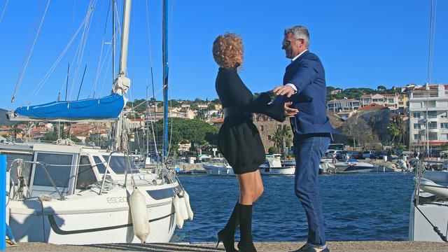 Les amoureux ❤️sur le port de Sainte-Maxime