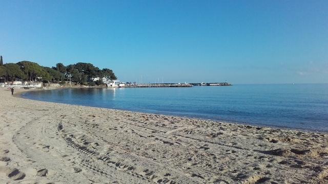 La plage de la Garonnette