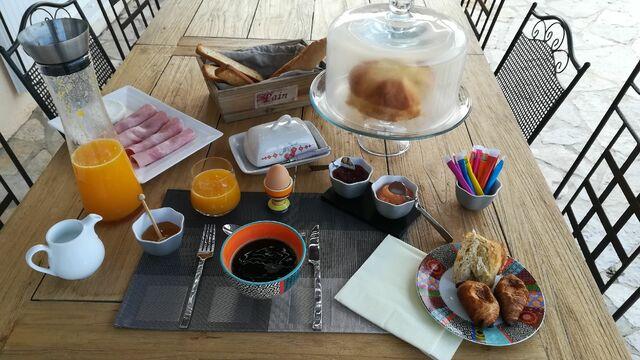 Le petit-déjeuner maison