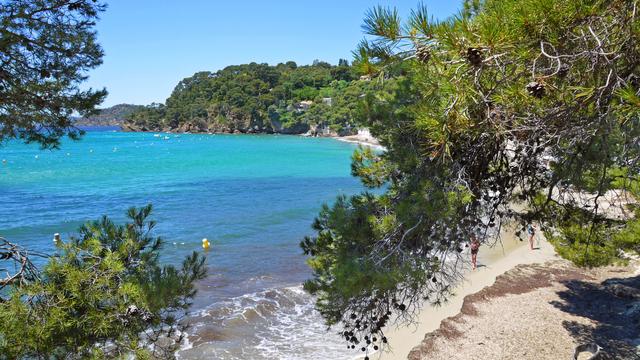 La plage du Rayol