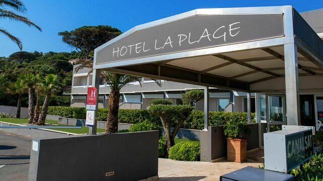 hôtel La plage