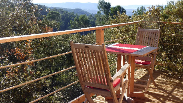 Magnifique vue sur les collines environnantes