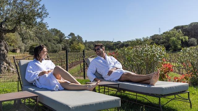 Pause gourmande vue sur les vignes