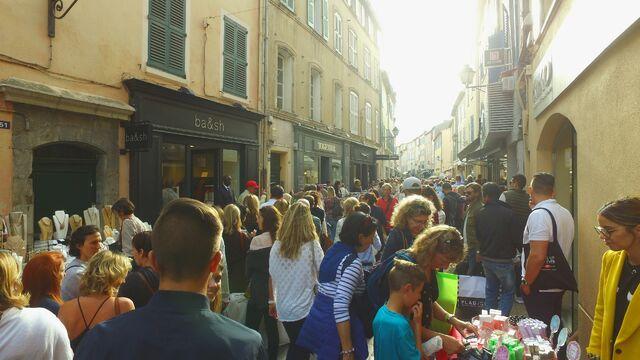 braderie Saint-Tropez