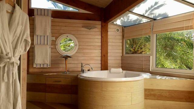 Votre bain à remous et votre sauna